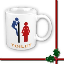 Personalised Funny Mug / Toilet